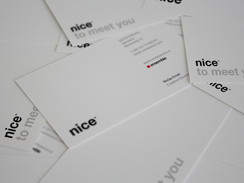 Niclas Ernst's Business Card