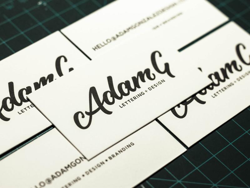Adam Gonzalez's Business Card