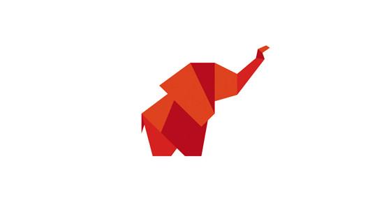 Red Elephant by Yuri Krasnoshchok