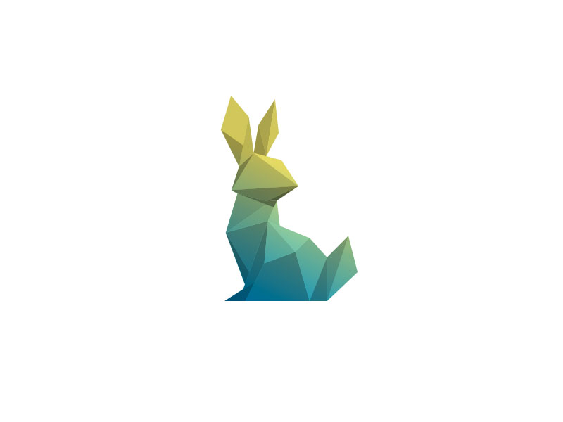 Poly Rabbit by Bradley F Edwards