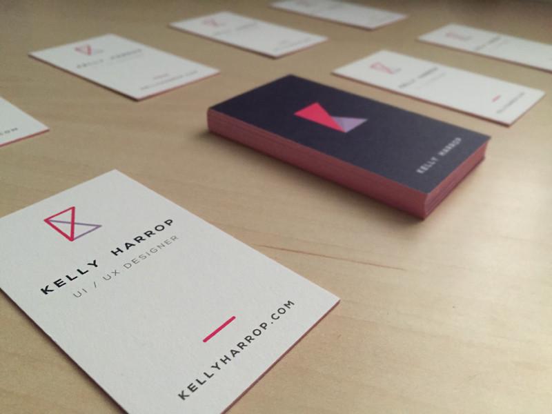 Kelly Harrop's Business Card