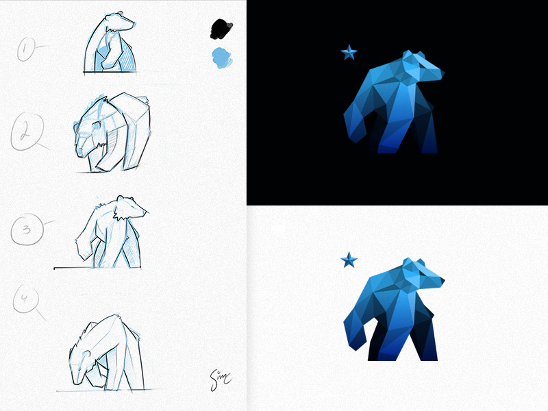 Bear Logo / Final by simc