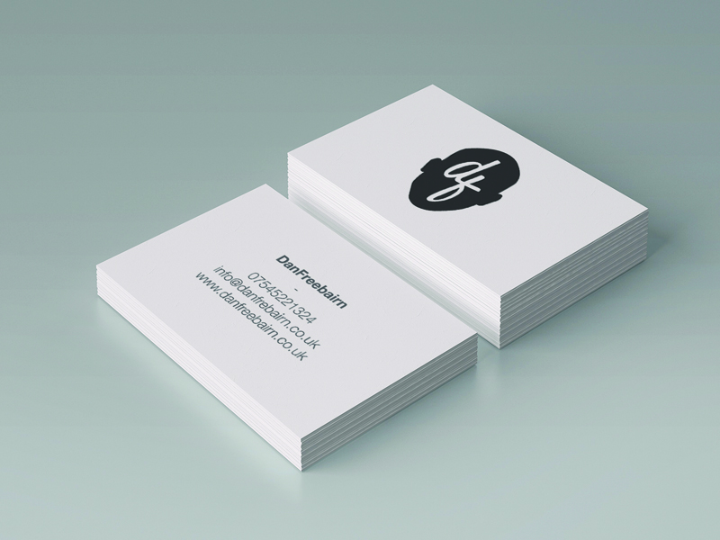 Dan Freebairn's Business Card