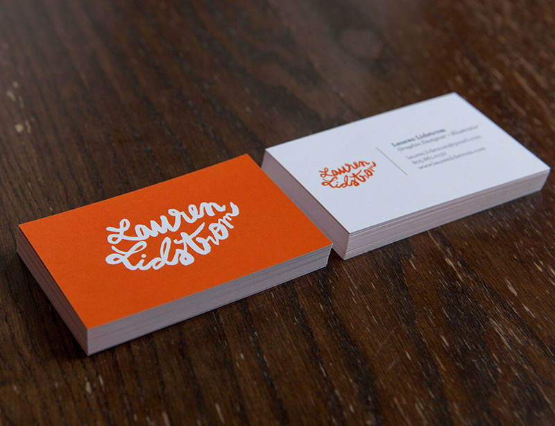 47 creative personal business cards of designers lauren lidstroms business card colourmoves