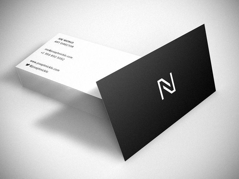 47 creative personal business cards of designers joe nicklos business card colourmoves