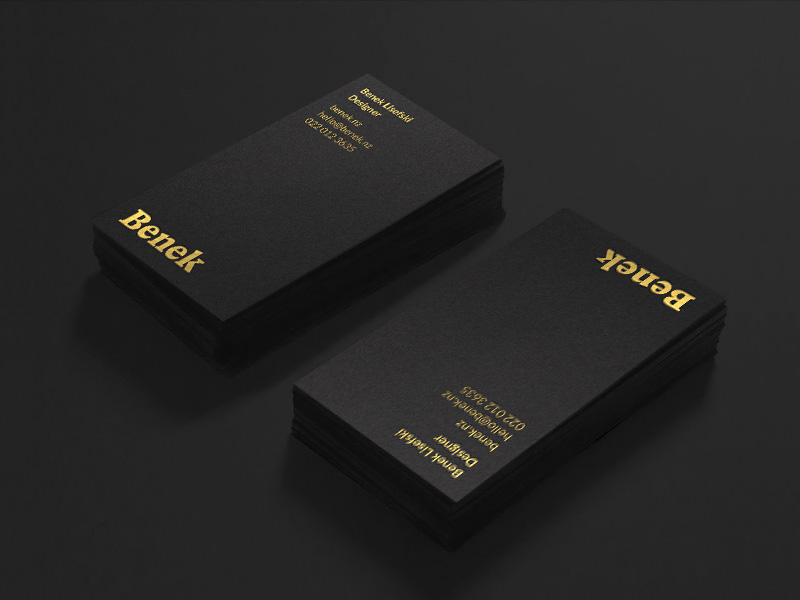 Benek Lisefski's Business Card