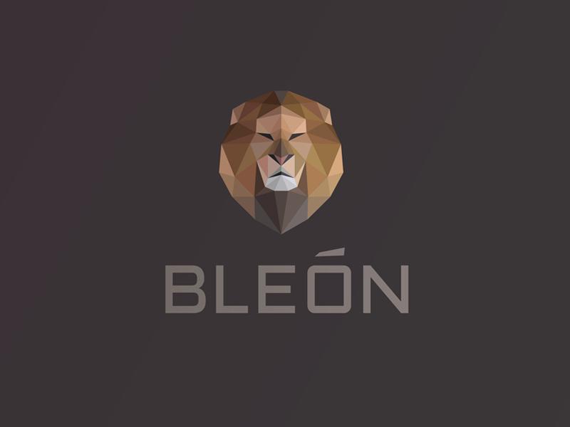 Bleón Logo by Breno Bitencourt