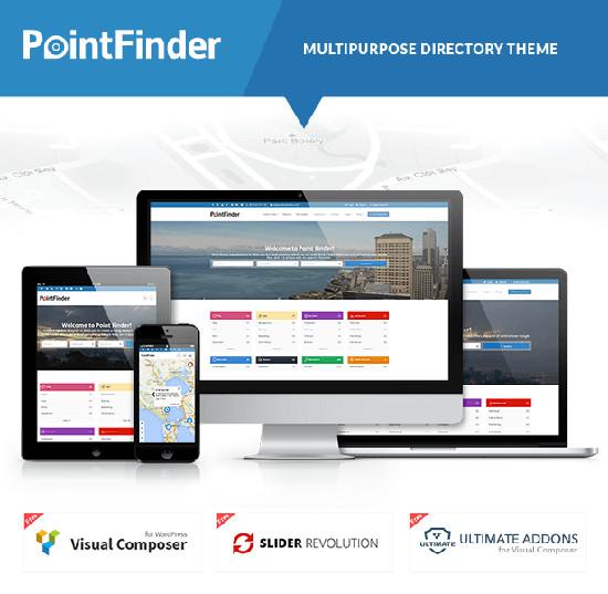 Point Finder - Directory WordPress Theme