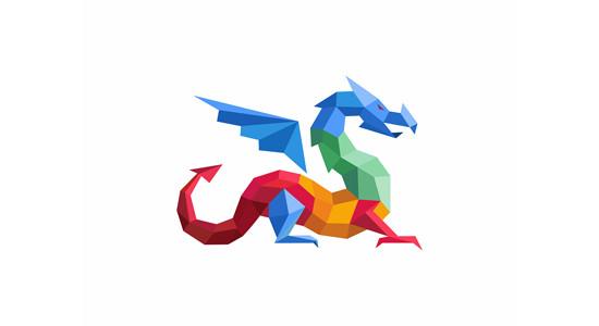 Dragon by Yuri Kartashev