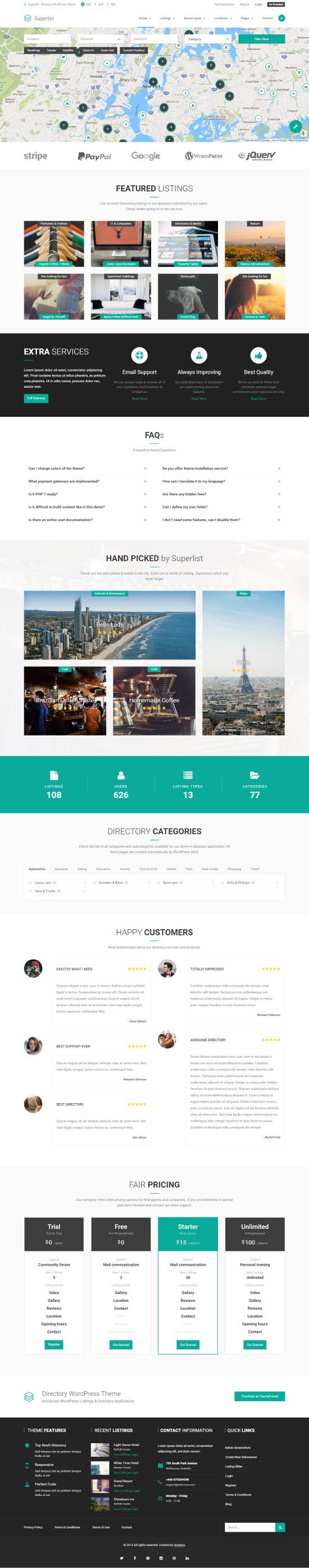Superlist - Directory WordPress Theme