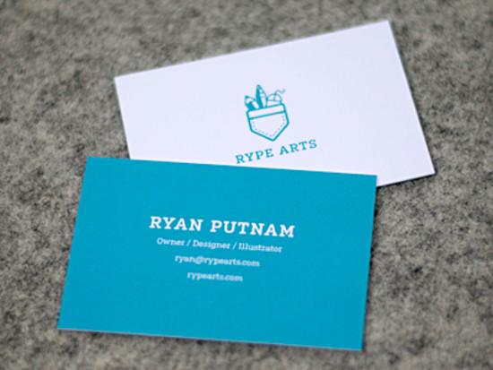 Ryan Putnam's Business Card