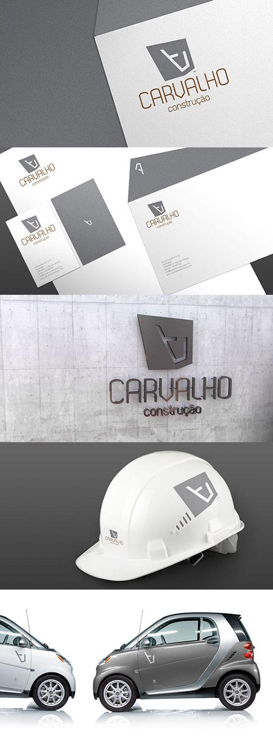 Identidad de Marca para empresas constructoras - Carvalho Construção de Luís Bordalo