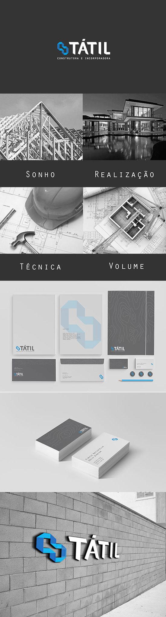 Tátil Branding por Ilustrata Design
