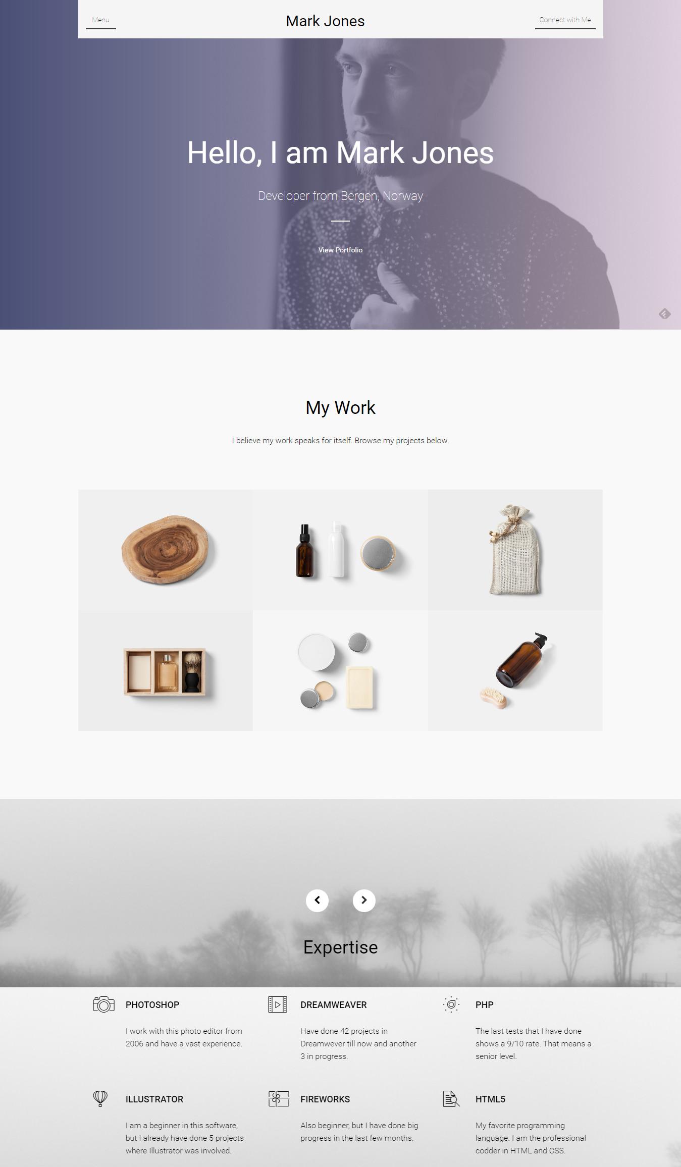 Miresume - Resume, CV & Portfolio Theme