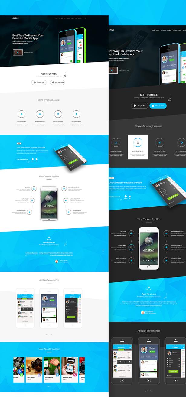AppBox - App Landing & App Store WordPress Theme