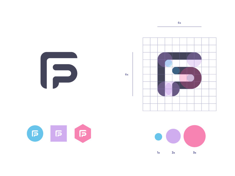 Filip Pietroń - Self branding re-revisioned logo