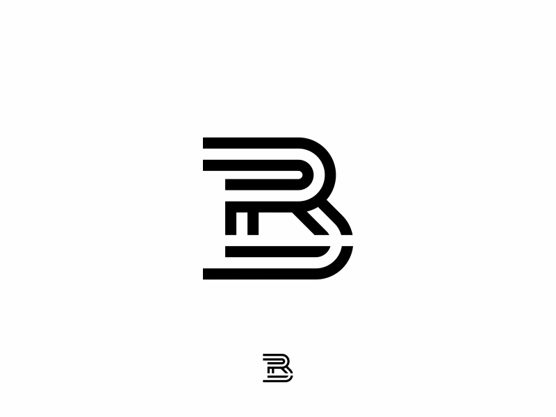 BR monogram Logo