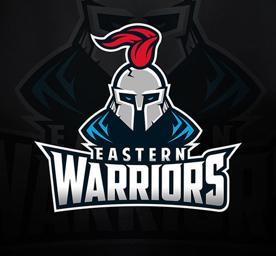 EASTERN WARRIORS AMERICAN FOOTBALL logo