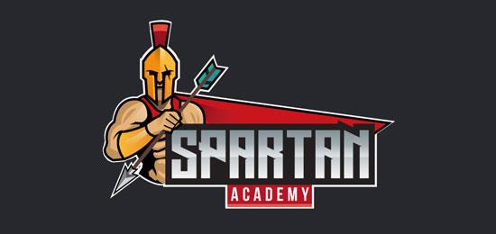 Spartan Academy logo
