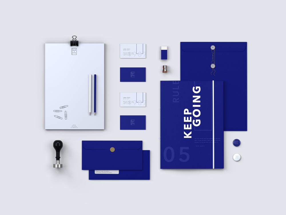 Identidades de marca personal de Diseñadores Creativos- Marca personal de Admir Hadžic