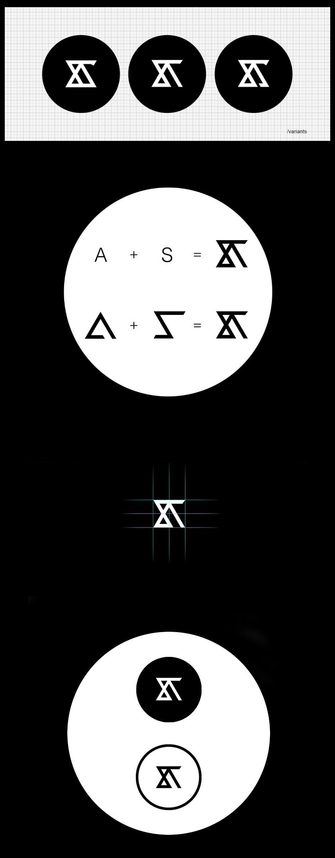 Identidades de marca personal de Diseñadores Creativos - Identidad del logotipo de Adam Švejda