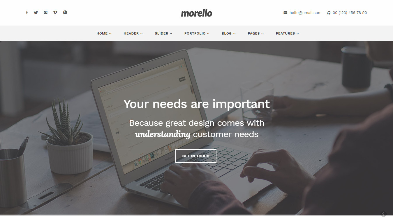 Morello - Multipurpose Business WordPress Theme