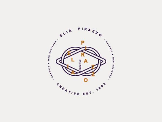 Identidades de marca personal de Diseñadores Creativos - Logotipo personal de Elia