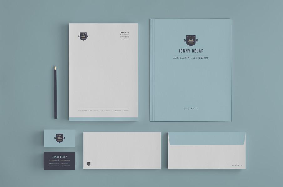 Identidades de marca personal de Diseñadores Creativos- Marca personal de Jonny Delap