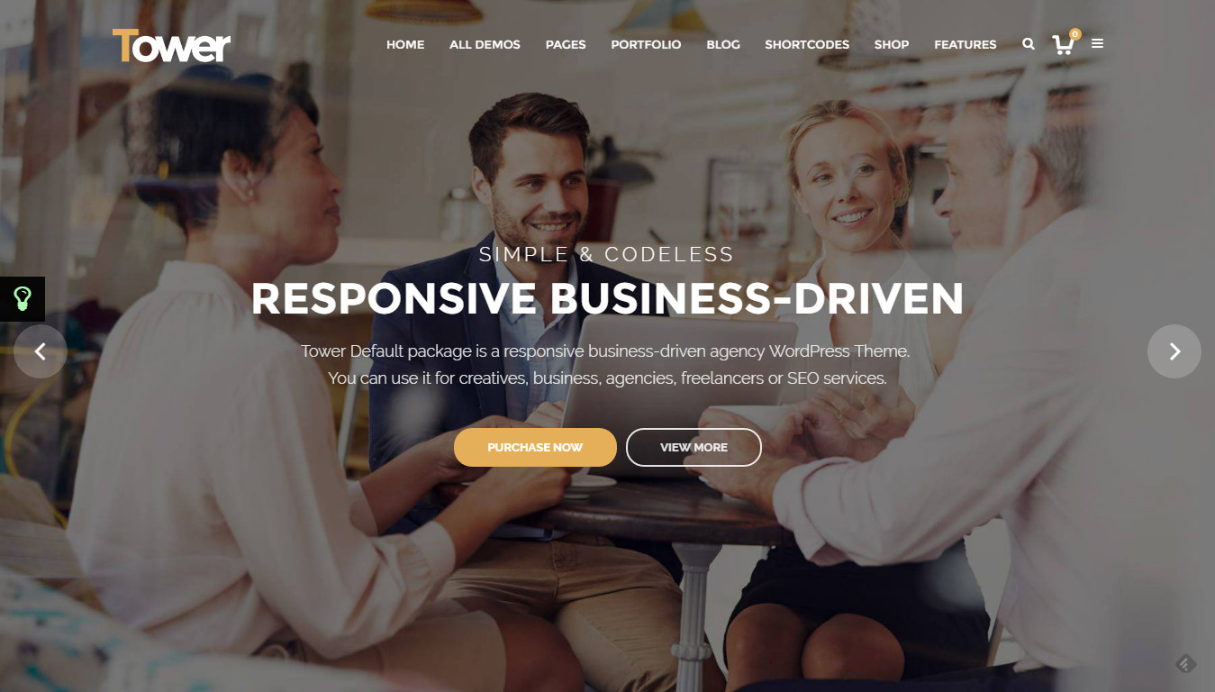 Tower   Business-Driven Multipurpose WP Theme