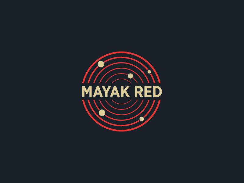 Mayak Red by Logo machine