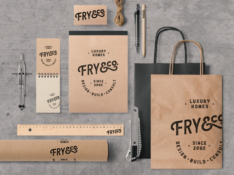 Fry & Co Logo by Cara Bell