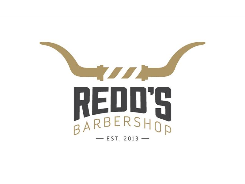 Redd's Barbershop Logo by Jonathan Longnecker