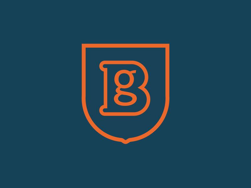 Identidades de marca personal de Diseñadores Creativos- Logotipo de identidad personal de Ben Griffen