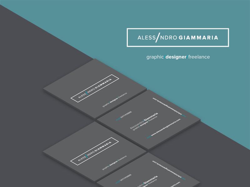 Alessandro Giammaria New Personal Identity Logo