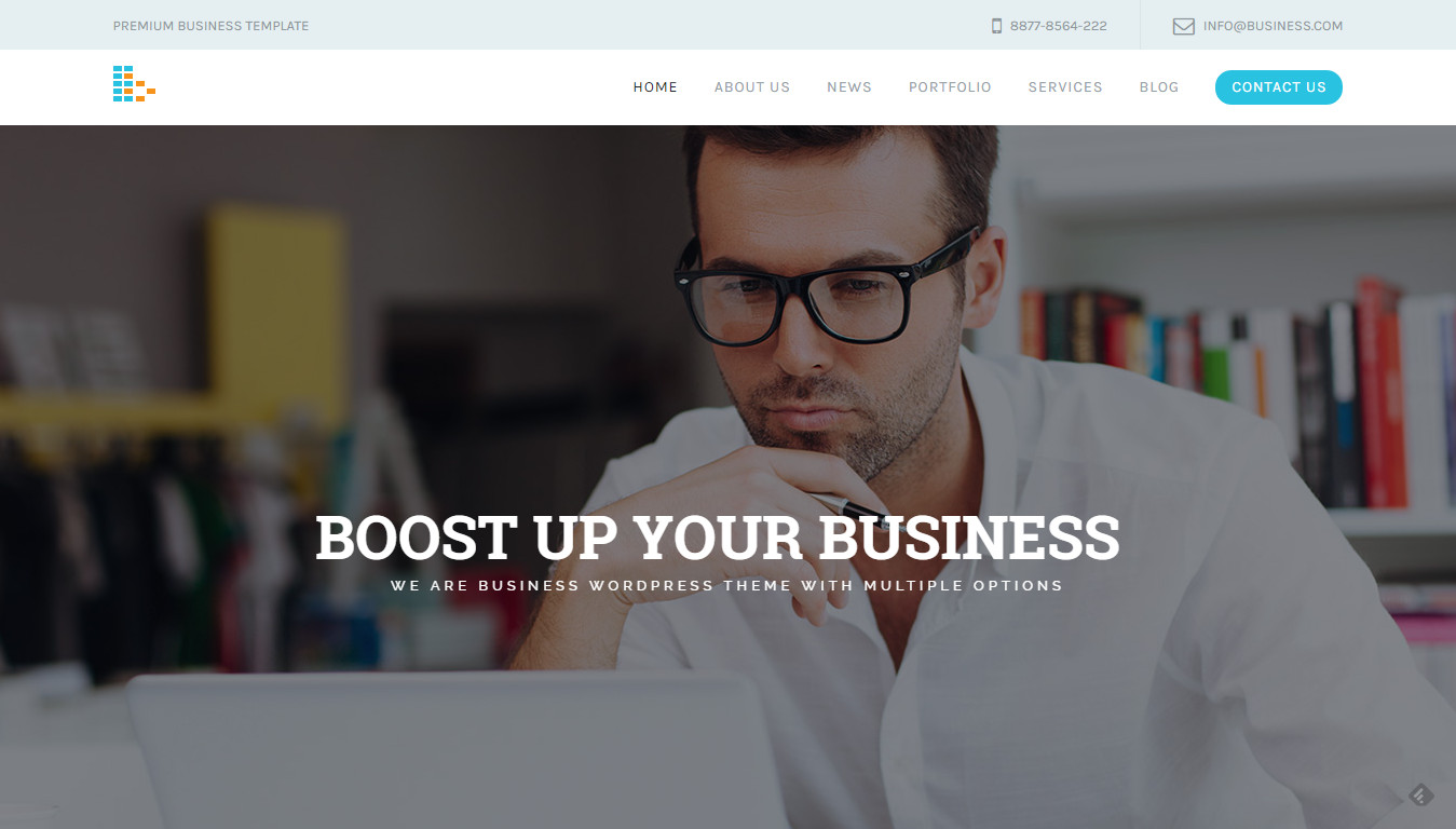 Bplus: Business & Consultancy WordPress Theme