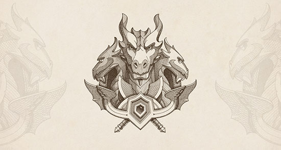 Dragon Emblems by NestStrix Studio
