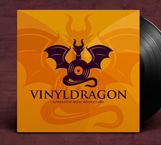 Dragon Music Logo by Alberto Bernabe