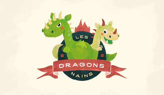 Les Dragons Nains by Christelle Mozzati