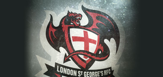 London St George's RFC Dragons by Fraser Davidson