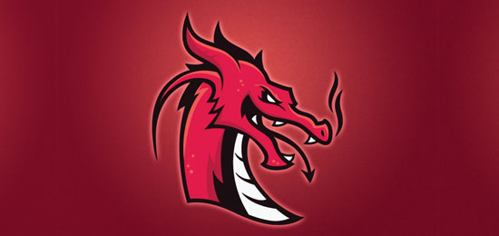 Red Dragons Logo by Steph Sohn