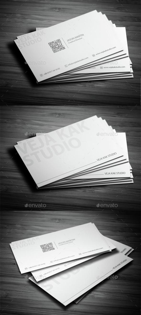 Minimal Business Card by alamin ripon
