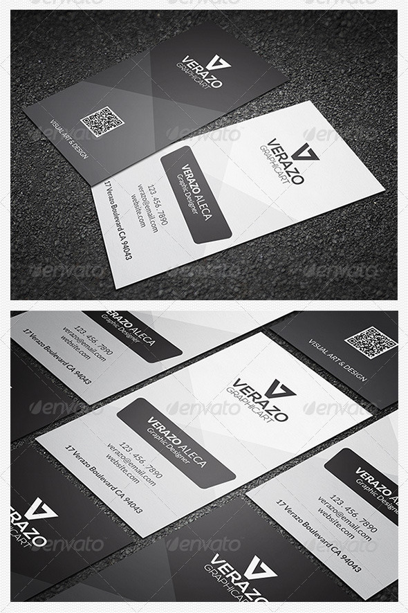 Minimal Business Card 43 by verazo