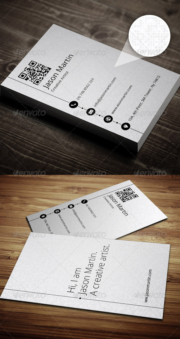 Ready To Print Minimalist Business Card Templates - Templates business card
