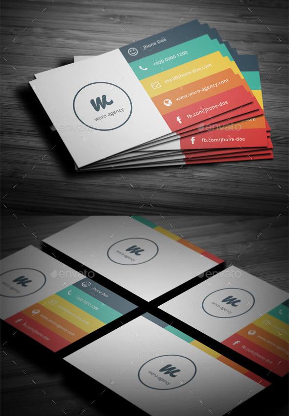 17 Ready to Print Minimalist Business Card Templates