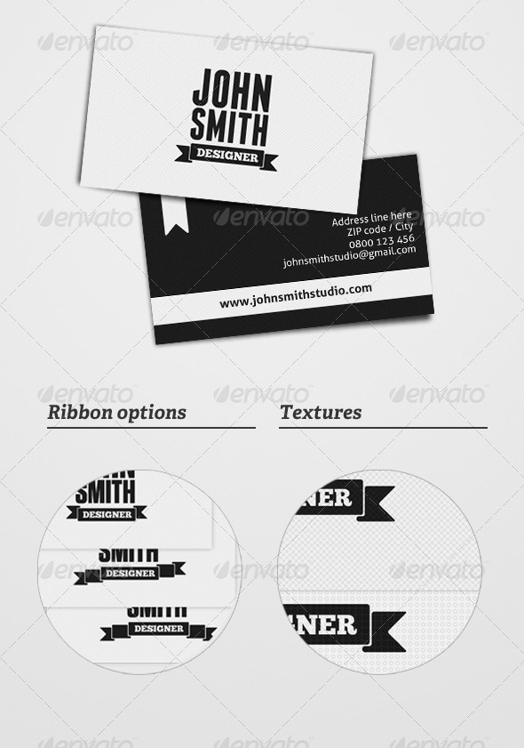Minimal Business Card by 2tonewarrior