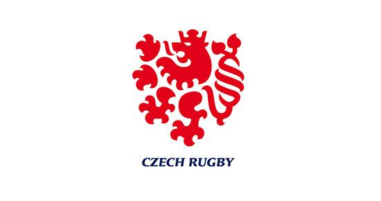 Logo de rugby checo de Lumir Kajnar