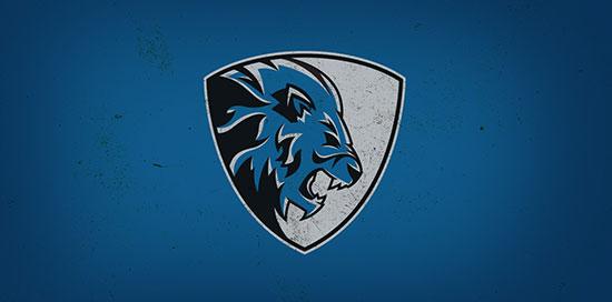 Mejores logotipos de Leones - Concepto DETROIT LIONS por Addison Foote