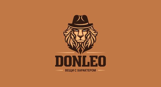 Mejores logotipos de Leones - Donleo de Tatyana Bolshakova