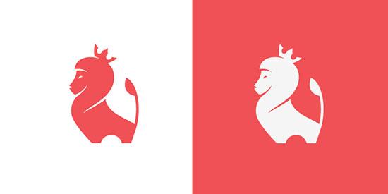 Mejores logotipos de Leones - El Rey León de Stevan Rodic