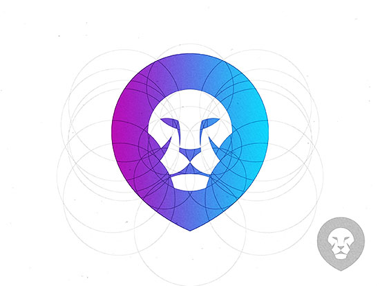Lion Logo by Yoga Perdana